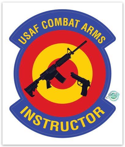 USAF Combat Arms Instructor - zap - Reaper Patches