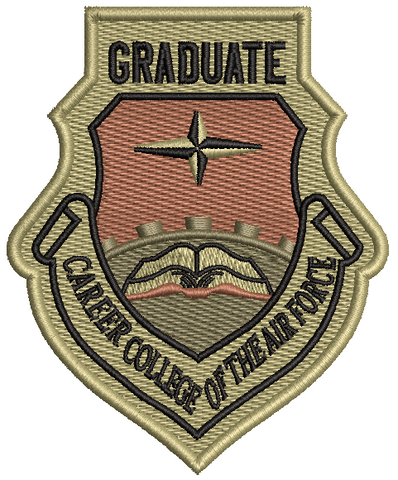 Career College of the Air Force  Graduate - OCP Patch