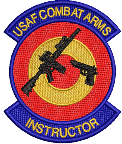 USAF Combat Arms Instructor Patch - Reaper Patches