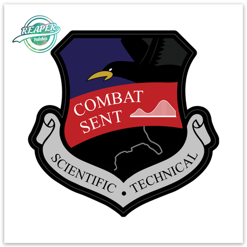 Combat Sent Raven- Zap - Reaper Patches