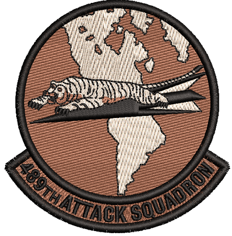 489th Attack Squadron -  Desert