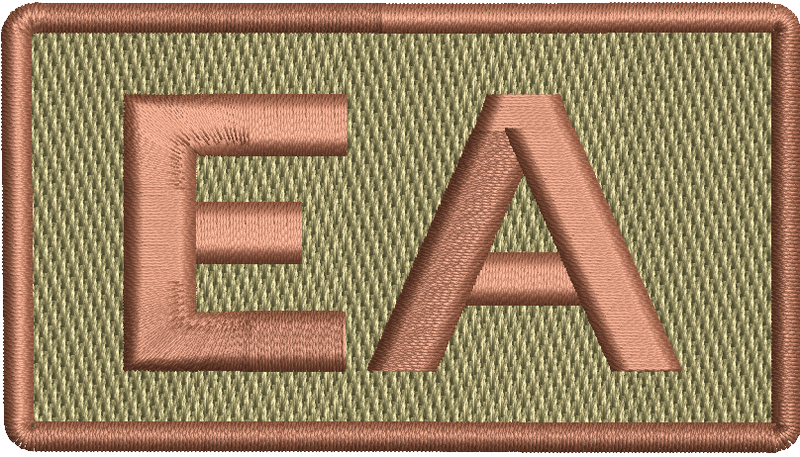 """EA""- Left Shoulder Patch"