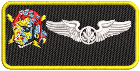 Enlisted Aircrew Name Tag (PRANG) - Reaper Patches