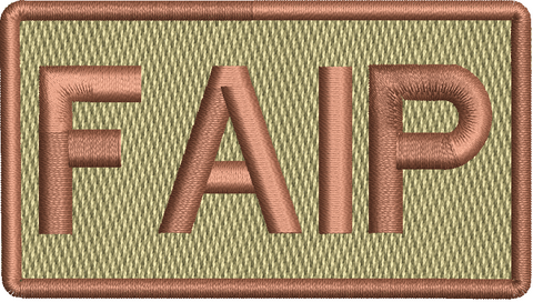 """FAIP"" Left Shoulder Patch"