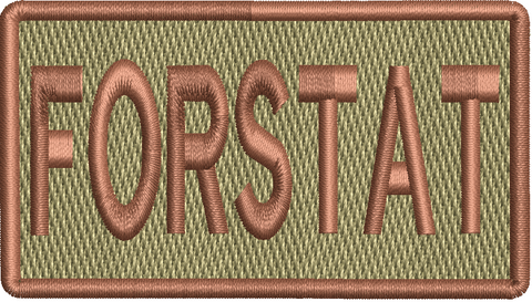 """FORSTAT""- Left Shoulder Patch"