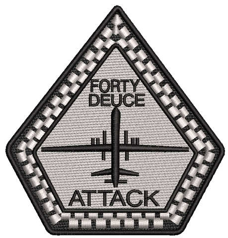 Forty Deuce Attack Diamond Patch - Reaper Patches