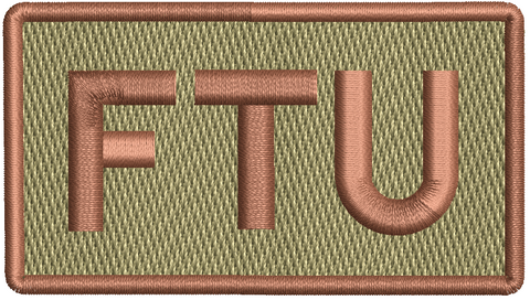 """FTU""- Left Shoulder Patch"