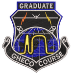 Global Hawk Electronic Combat Officer (GHECO) Course- Graduate Patch - Reaper Patches