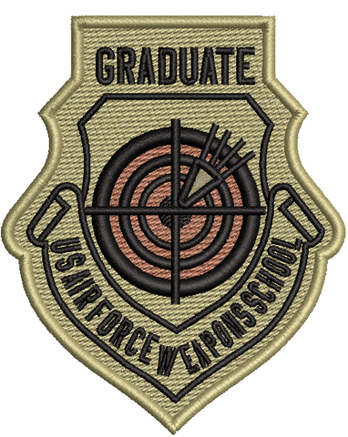 U.S. Air Force Weapons School Graduate Patch OCP - Reaper Patches