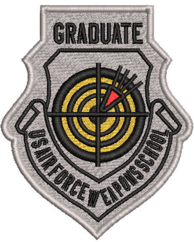 U.S. Air Force Weapons School Graduate Patch - Reaper Patches