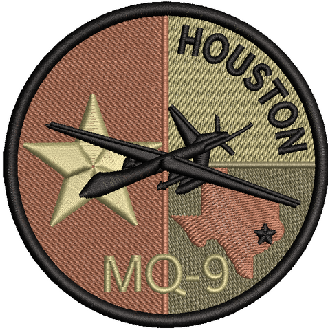 Houston MQ-9 Patch - OCP (Unofficial) - Reaper Patches
