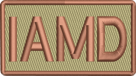 """IAMD"" - Left shoulder Patch"