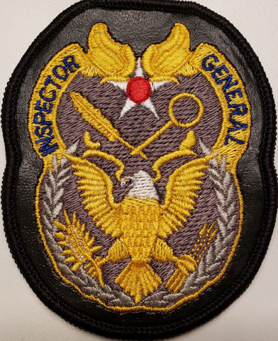 Inspector General Leather Patch - Reaper Patches