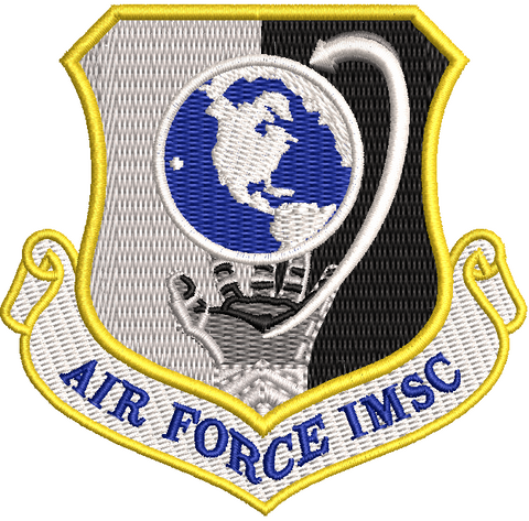 Air Force Installation and Mission Support Center (IMSC) patch - Reaper Patches