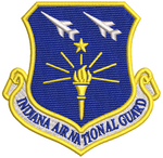 Indiana Air National Guard (INANG) - Colored