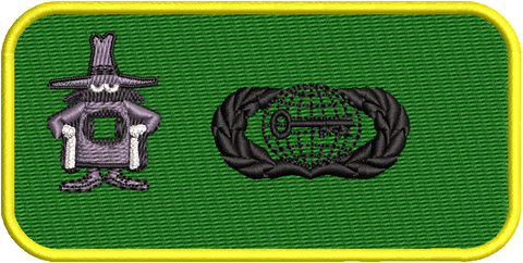 Officer Intel Friday Name Tags - 19th Weapons Squadron - Reaper Patches
