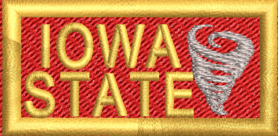Iowa State Tab - Reaper Patches