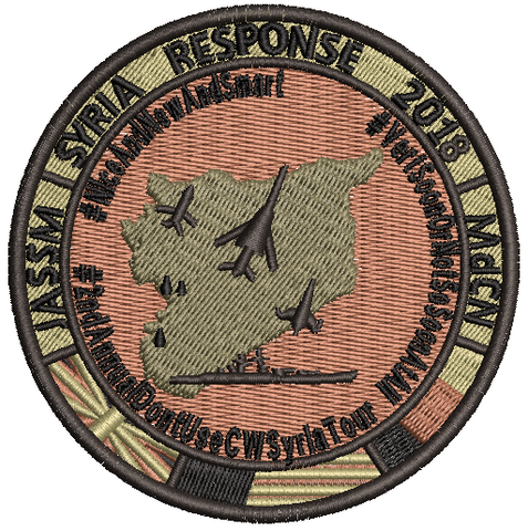 JASSM Syria Response 2018 - Reaper Patches