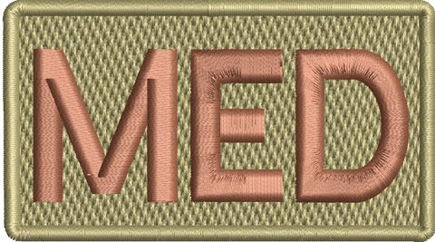 "Medical ""MED""- Left Shoulder Patch - Reaper Patches"