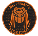 MQ-1 Predator Never Forget - Reaper Patches