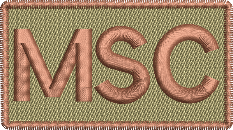 """MSC"" - Left Shoulder Patch"
