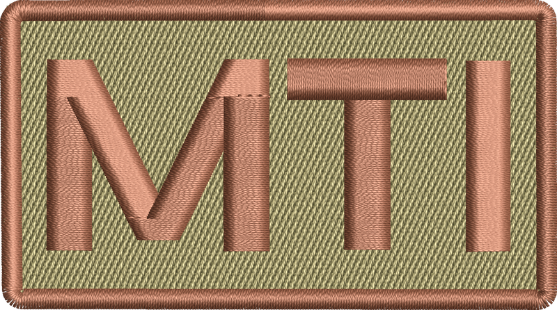 """MTI"" - Left Shoulder Patch"