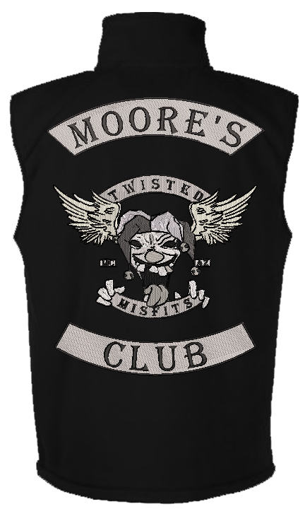 Moore's Club Kit - Reaper Patches