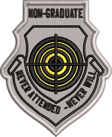 U.S. Air Force Weapons School ---------   NON-Graduate Patch