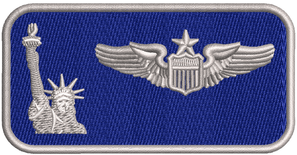 137th Liberty Nametag