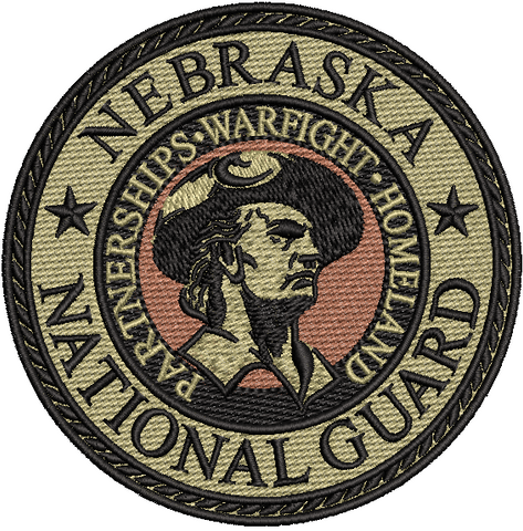 Nebraska National Guard OCP patch - Unofficial