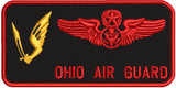 Enlisted Aircrew Wings (178 OSS) Ohio Air Guard - Reaper Patches