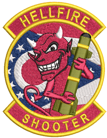 OHANG Hellfire Shooter - Reaper Patches