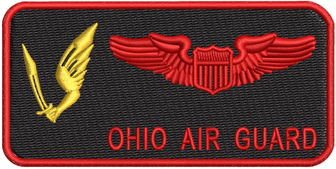 Pilot Name Tag (178th OSS) - Reaper Patches