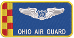 Ohio Air Guard Blue RPA Name Tag - Reaper Patches