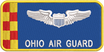 Ohio Air Guard Blue Pilot Name Tag - Reaper Patches