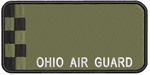 Ohio Air Guard Olive Drab Name Tag - Reaper Patches