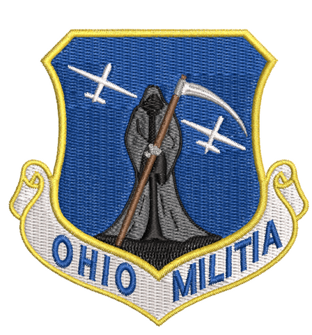 Ohio Militia (Reaper) - Reaper Patches