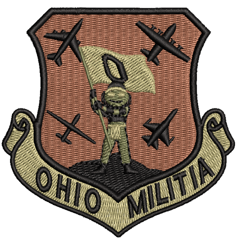 Ohio Militia OCP - Reaper Patches