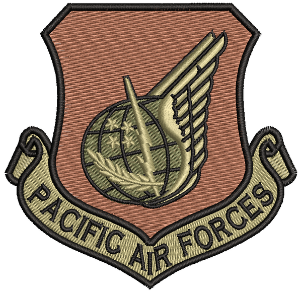 Pacific Air Forces (PACAF) OCP Patch