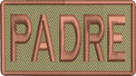"""PADRE"" Left Shoulder Patch"