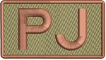 """PJ""- Left Shoulder Patch"