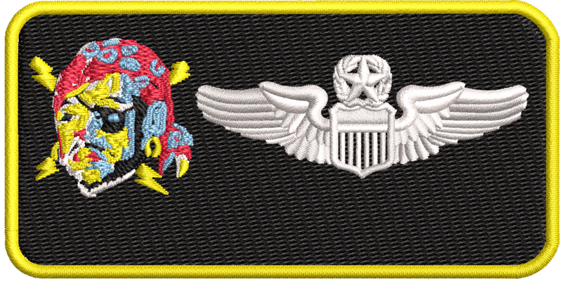 Pilot Name Tag (198 ALS) - Reaper Patches