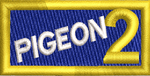 PIGEON 2 Blue - Reaper Patches