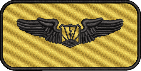 Standard Name Tags - 489th Attack Squadron - Reaper Patches