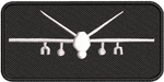 Black MQ-9 Name Tag Enlisted Master Aircrew