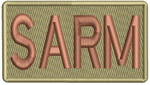 """SARM""- Left Shoulder Patch"
