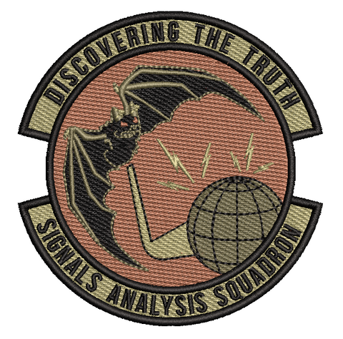 "Signals Analysis Squadron ""Discovering the Truth""- Friday Patch - OCP"