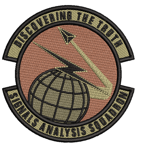 "Signals Analysis Squadron ""Discovering the Truth""- Patch - OCP"