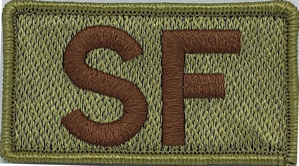 "Security Forces ""SF"" Left shoulder patch"