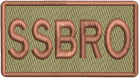 """SSBRO""- Left Shoulder Patch"